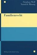 Bild von Wolf, Stephan : Familienrecht