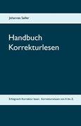 Bild von Sailler, Johannes: Handbuch Korrekturlesen
