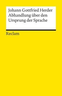 Bild von Herder, Johann G : Abhandlung über den Ursprung der Sprache