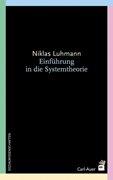 Bild von Luhmann, Niklas : Einführung in die Systemtheorie