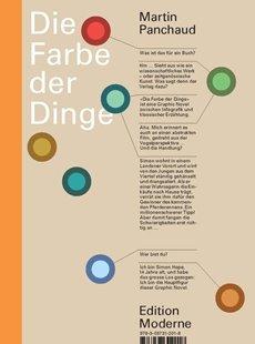Bild von Panchaud, Martin : Die Farbe der Dinge