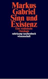 Bild von Gabriel, Markus: Sinn und Existenz
