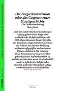 Bild von Kreis, Georg: Die Bergier-Kommission oder das Gespenst einer Staatsgeschichte