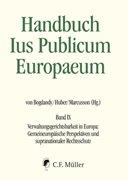 Bild von Bogdandy, Armin Von (Hrsg.) : Handbuch Ius Publicum Europaeum