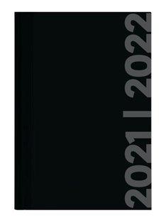 Bild von ALPHA EDITION (Hrsg.): Collegetimer Black Label 2021/2022 - Schüler-Kalender A5 (15x21 cm) - schwarz - Weekly - 224 Seiten - Terminplaner - Alpha Edition