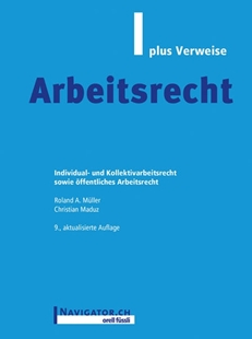 Bild von Müller, Roland A. : Arbeitsrecht plus Verweise