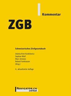 Bild von Kostkiewicz, Jolanta Kren (Hrsg.) : ZGB Kommentar