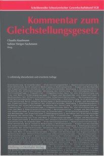 Bild von Kaufmann, Claudia (Hrsg.) : Kommentar zum Gleichstellungsgesetz