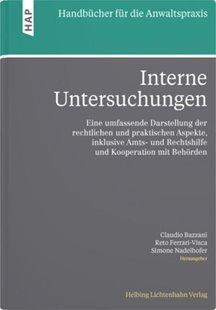 Bild von Bühler, Gregor : Interne Untersuchungen