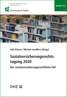 Bild von Kieser, Ueli (Hrsg.) : Sozialversicherungsrechtstagung 2020