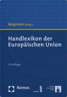 Bild von Bergmann, Jan (Hrsg.): Handlexikon der Europäischen Union