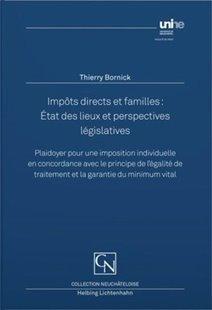 Bild von Bornick, Thierry: Impôts directs et familles : État des lieux et perspectives législatives