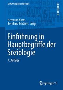 Bild von Korte, Hermann (Hrsg.) : Einführung in Hauptbegriffe der Soziologie