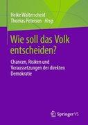Bild von Walterscheid, Heike (Hrsg.) : Wie soll das Volk entscheiden?